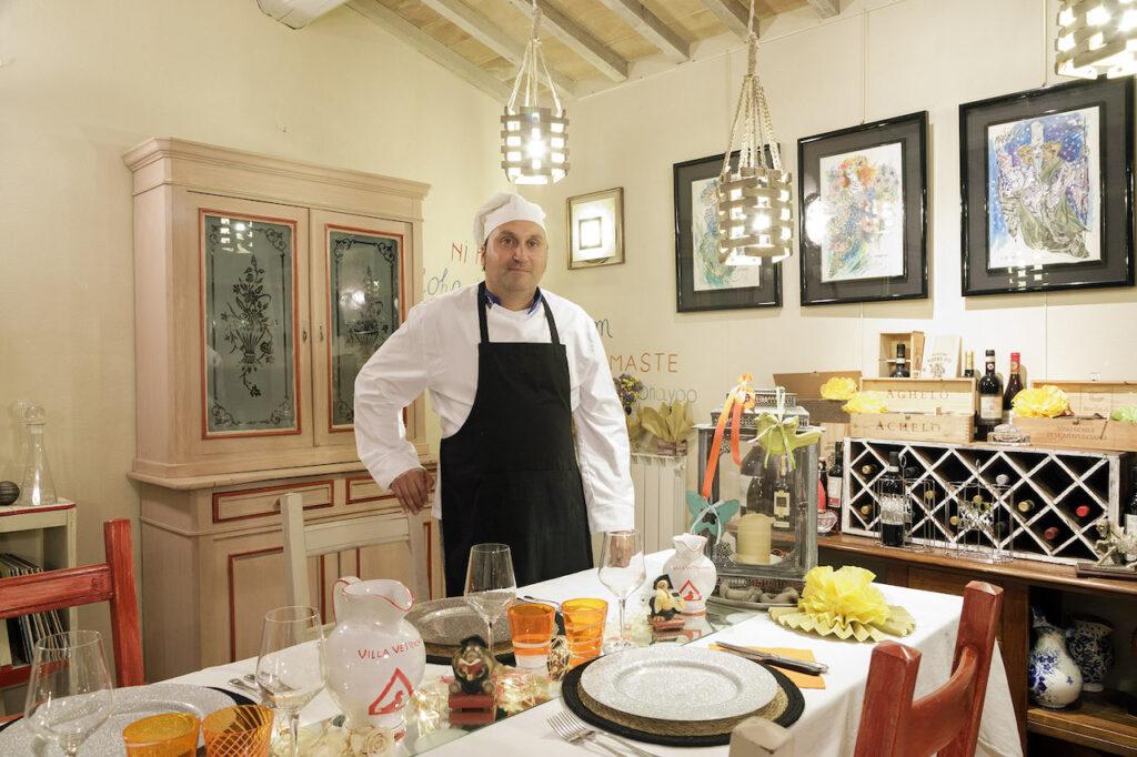 Chef Francesco organizza un buonissimo pranzo