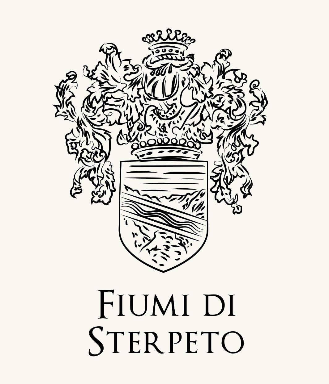Stemma di famiglia dei Fiumi di Sterpeto, nobile famiglia Umbra